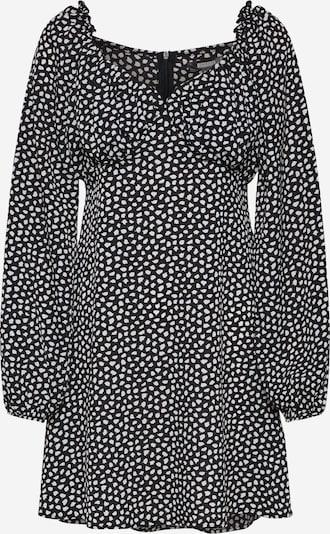 Missguided Kleid 'MILKAMID' in schwarz / weiß: Frontalansicht