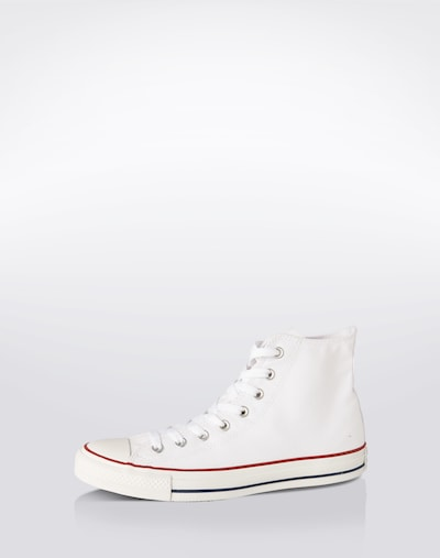 CONVERSE Sneaker ' Chuck Taylor All Star High ' in weiß: Frontalansicht