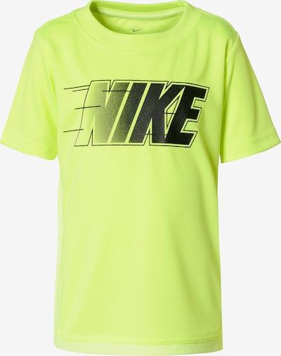 Nike Sportswear T-Shirt 'Trophy' in neongelb / schwarz, Produktansicht
