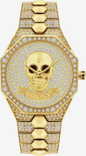 POLICE Uhr 'PL16027BSG.22M' in gold, Produktansicht