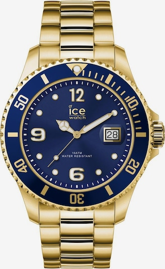 ICE WATCH Quarzuhr 'Ice Steel 16762' in saphir / gold, Produktansicht