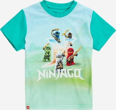 LEGO WEAR Shirt in grün / mischfarben, Produktansicht