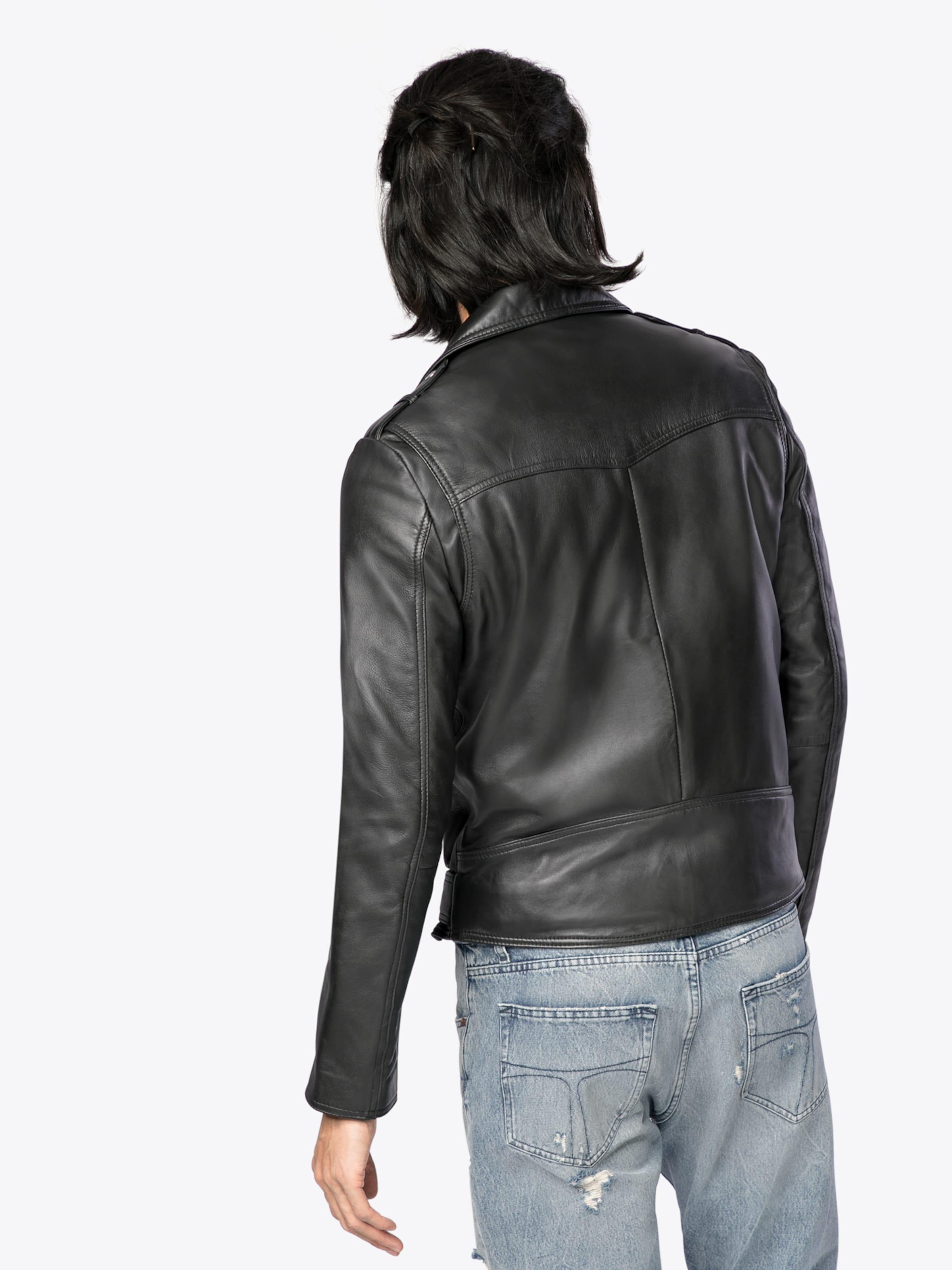 #LADC Lederjacke 'Rocky' Kaufen Sie Günstig Online Preis Auslass Perfekt P65P2gB