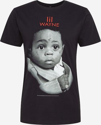 Mister Tee T-Shirt 'Lil Wayne Child' in grau / rot / schwarz: Frontalansicht