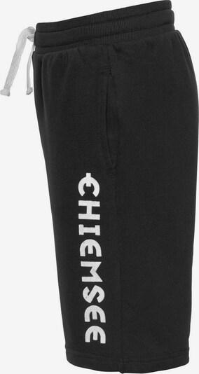 CHIEMSEE Bermudas in schwarz / weiß, Produktansicht