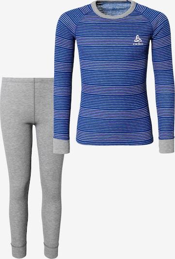 ODLO Wäscheset in blau / grau, Produktansicht