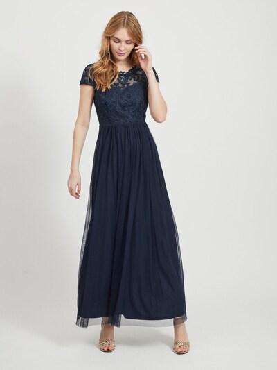 VILA Kleid in nachtblau, Modelansicht