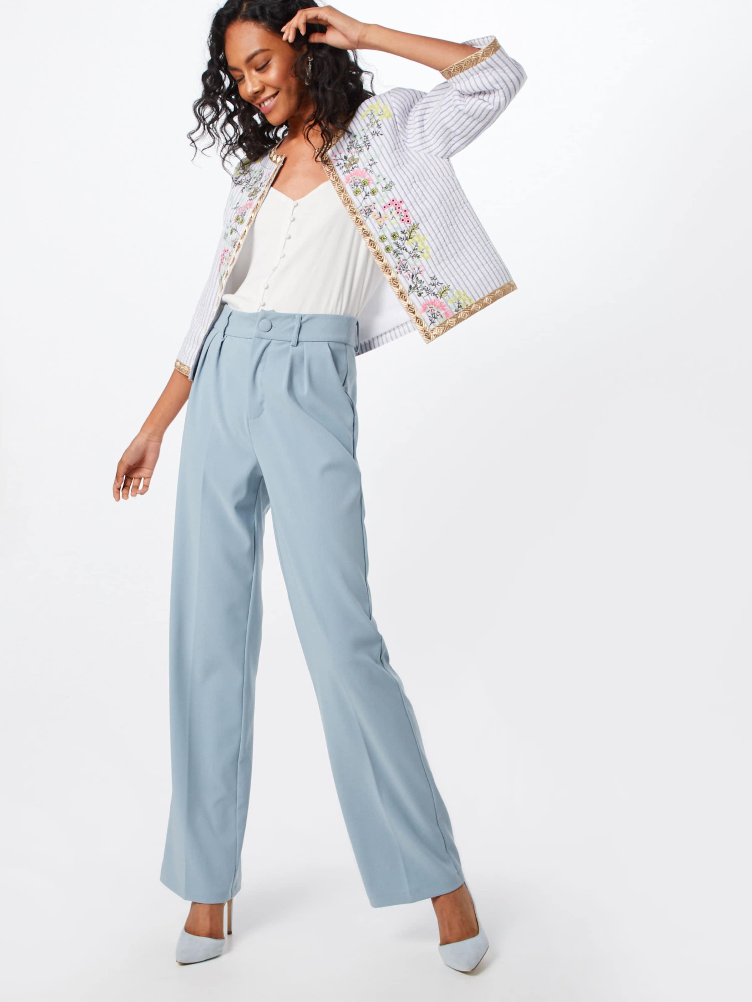 Blazer 'embroidered BlauMischfarben Royal Weiß Jacket' In Richamp; 8n0wNPZOkX