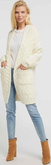 Usha Gebreid vest in de kleur Wit, Productweergave