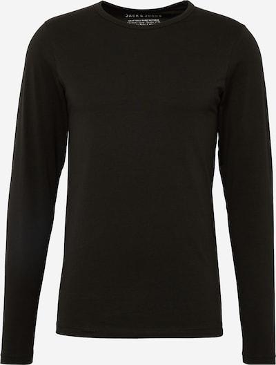 JACK & JONES Langarmshirt in schwarz, Produktansicht