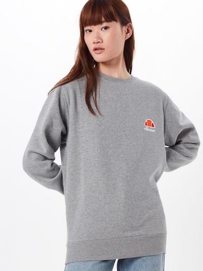 ELLESSE Sweat-shirt 'HAVERFORD' en gris chiné: Vue de face