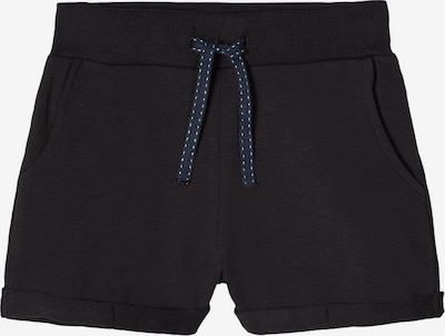 NAME IT Sweatshorts in schwarz: Frontalansicht
