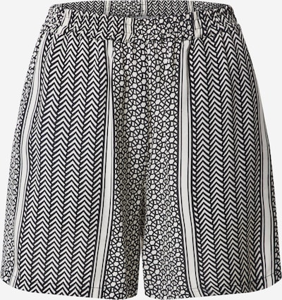 Pantaloni Soyaconcept pe negru / alb, Vizualizare produs