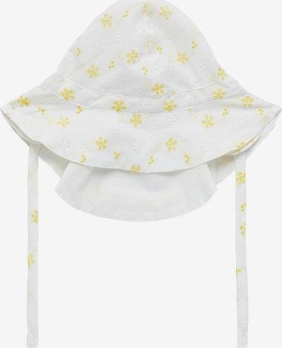 NAME IT Hut in gelb / weiß, Produktansicht