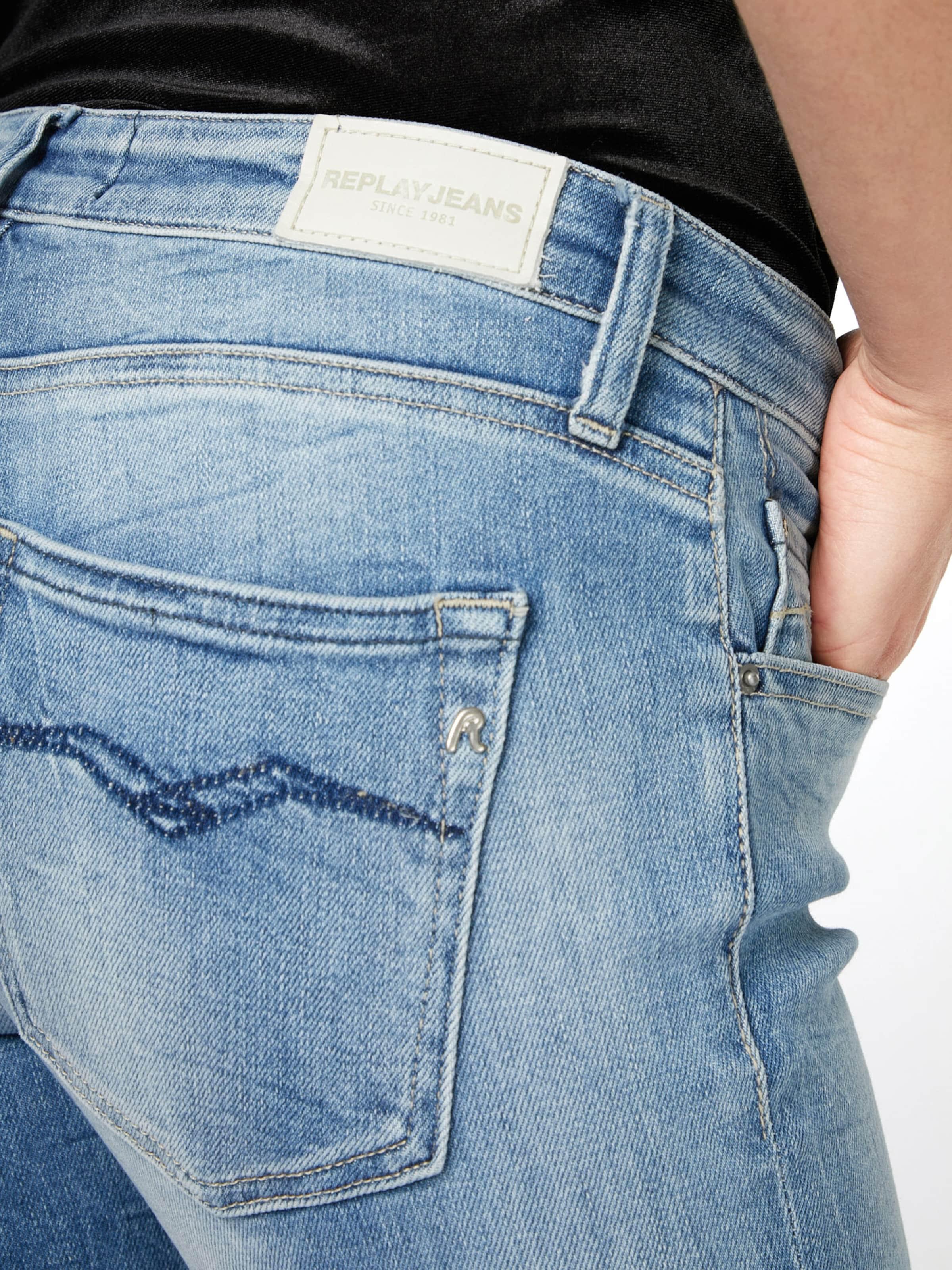 REPLAY Mid waist Jeans 'DOMINIQLI' Steckdose Genießen Günstige Preise Und Verfügbarkeit Billig Gutes Verkauf ZOSSWMAAAu