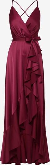 Marie Lund Abendkleid in blutrot, Produktansicht