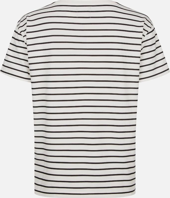 HIS JEANS T-Shirt in schwarz     offWeiß  Großer Rabatt aaaad0