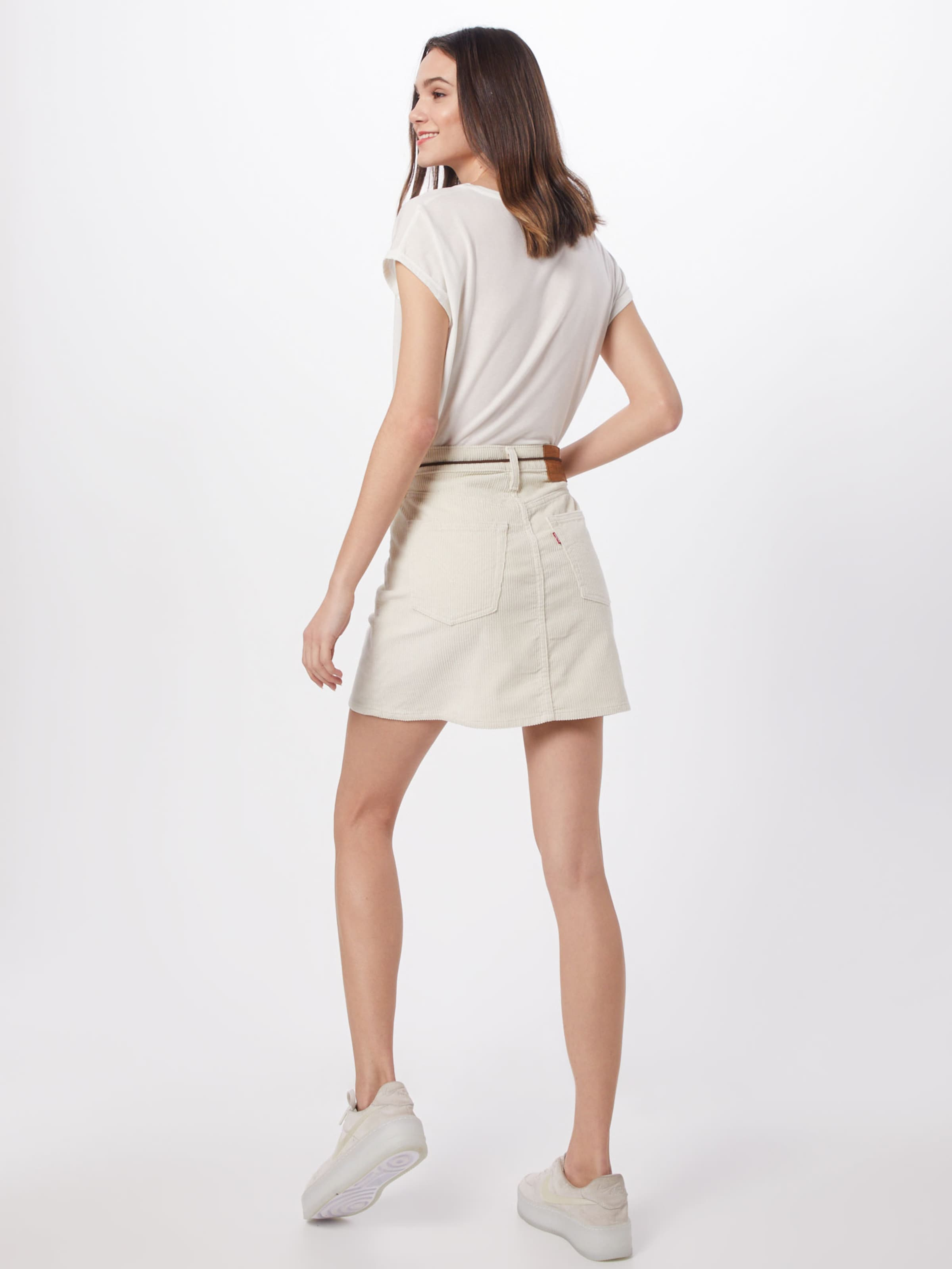 LEVI'S Kjol 'HR DECON ICONIC SKIRT' i vit