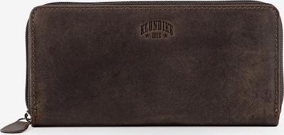 KLONDIKE 1896 Geldbörse 'Viola' in dunkelbraun, Produktansicht