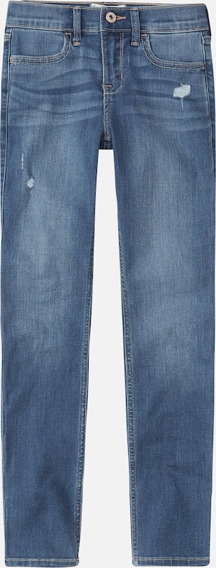 Abercrombie & Fitch Jeans 'MEDIUM DEST SUPER SKINNY 1CC' in de kleur Navy, Productweergave