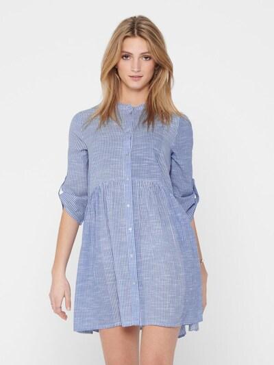 ONLY Blusenkleid  'ONLCHICAGO' in hellblau, Modelansicht