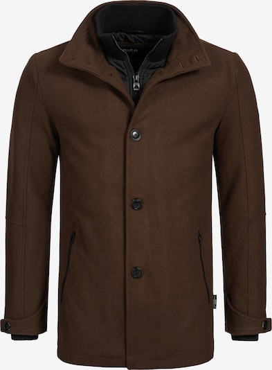 INDICODE JEANS Winterjas 'Brittany' in de kleur Kastanjebruin, Productweergave