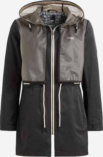khujo Mantel 'OLEEN' in schwarz / transparent, Produktansicht