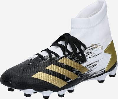 ADIDAS PERFORMANCE Fußballschuh 'PREDATOR 20.3' in gold / schwarz / weiß, Produktansicht