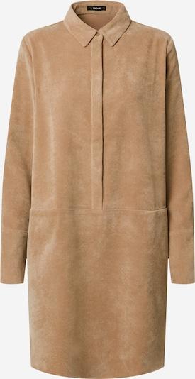 OPUS Robe-chemise 'Wes' en camel, Vue avec produit