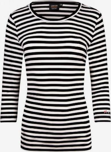 Canyon Shirt in schwarz / weiß, Produktansicht