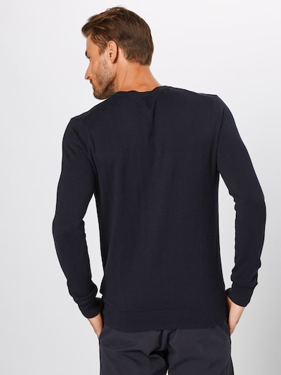 SCOTCH & SODA Pull-over en bleu nuit: Vue de dos