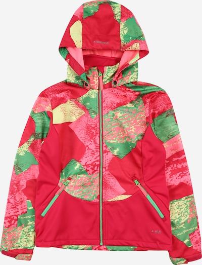 ICEPEAK Sportjacke 'Ladora' in grün / pink / rosa, Produktansicht