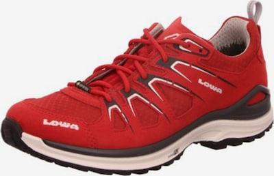 LOWA Outdoorschuhe in rot / bordeaux / weiß, Produktansicht