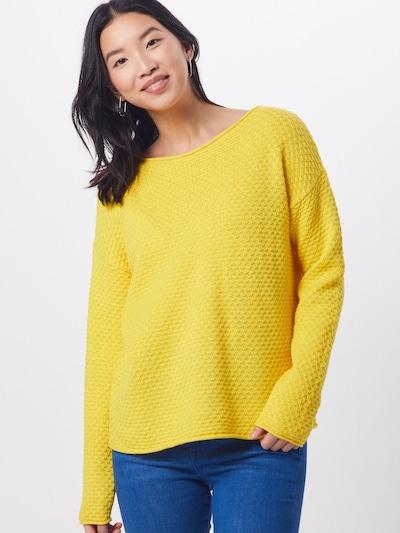 TOM TAILOR Pullover in gelb, Modelansicht