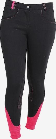 RED HORSE Reithose 'JULIA' in neonpink / schwarz, Produktansicht