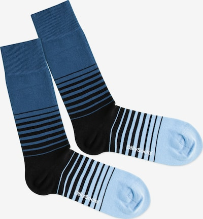 DillySocks Socken 'Cool Down' in blau / schwarz, Produktansicht