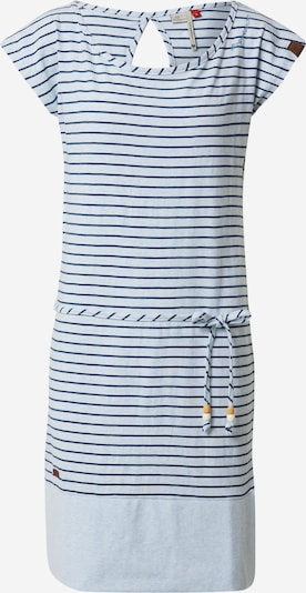 Ragwear Kleid in hellblau / offwhite, Produktansicht
