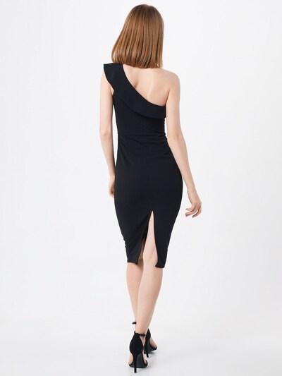 Kokteilinė suknelė iš WAL G. , spalva - juoda: Vaizdas iš galinės pusės