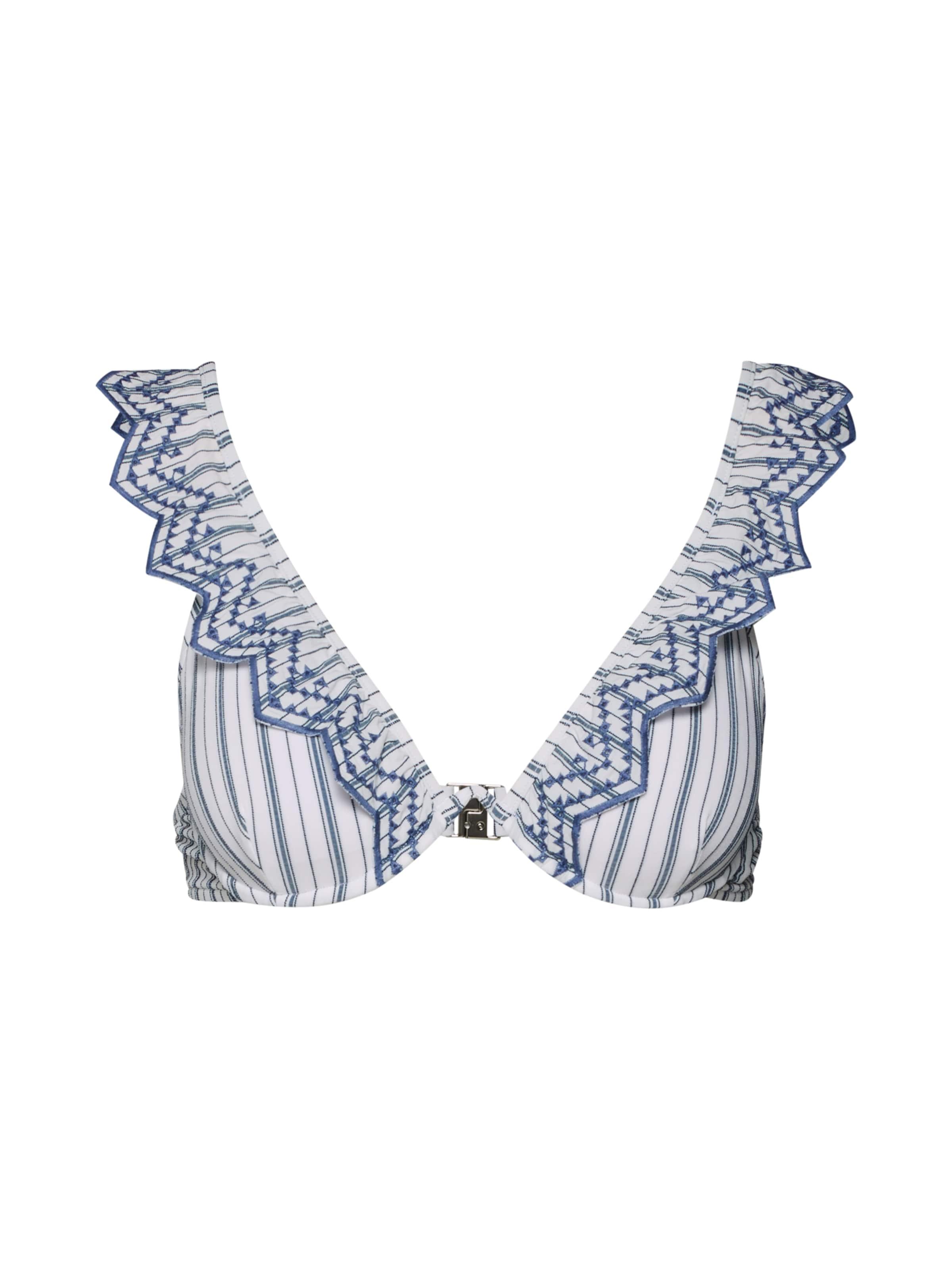 Underwire Bra' BleuBlanc De 'continuous Hauts Seafolly En Bikini VGzSUMpq