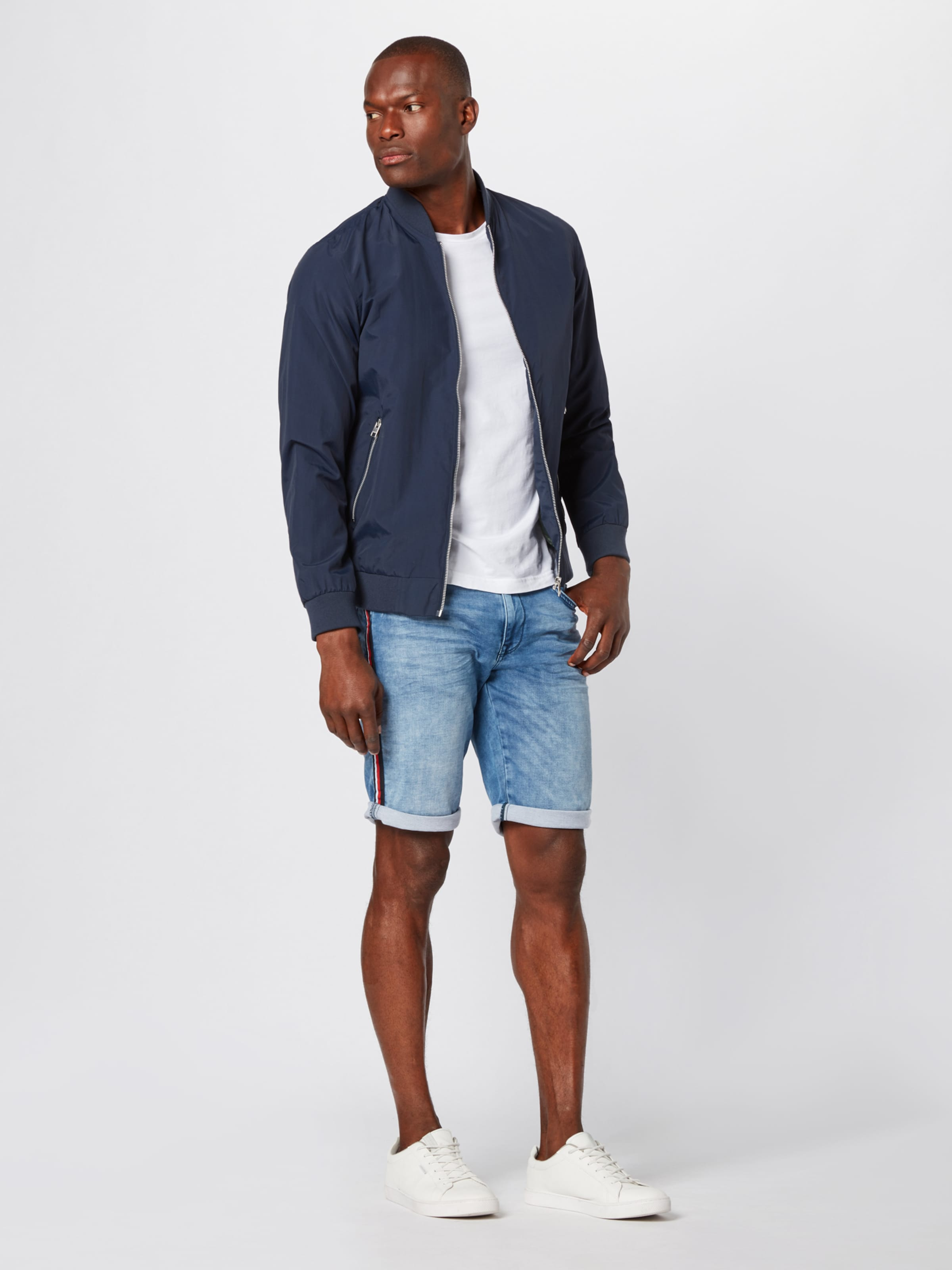 Industries Jeansshorts Denim In Petrol Blue 7Yy6Ibgvf