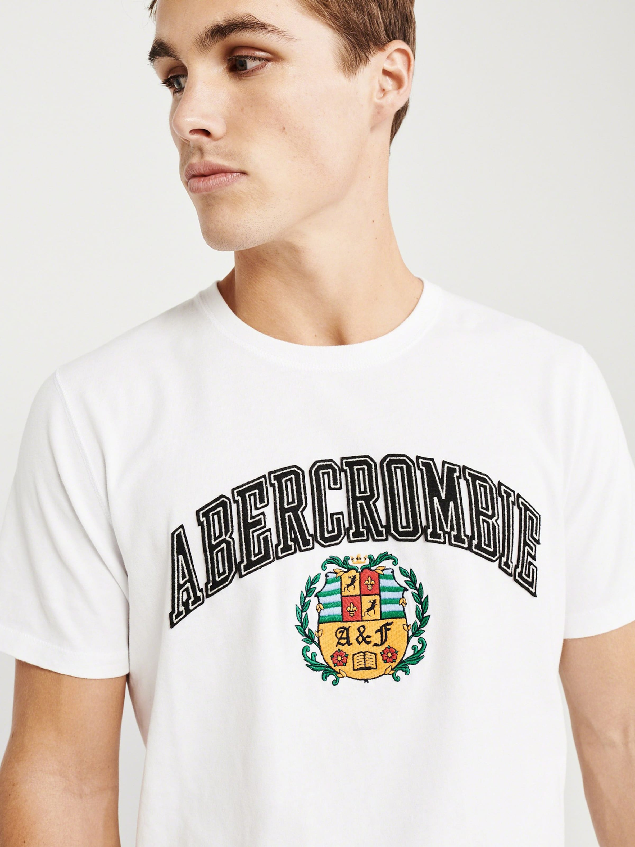 In Fitch Weiß Shirt Tech' Elevated Abercrombieamp; 'ss bIWE2DHYe9