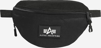 ALPHA INDUSTRIES Pojasna torbica 'Rubber' u crna, Pregled proizvoda