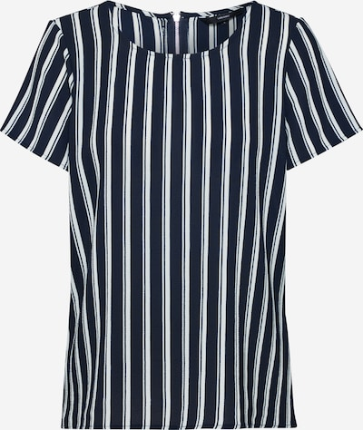 VERO MODA Blusenshirt in navy / weiß, Produktansicht