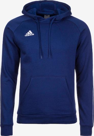 ADIDAS PERFORMANCE Sweatshirt 'Core 18' in dunkelblau / weiß, Produktansicht
