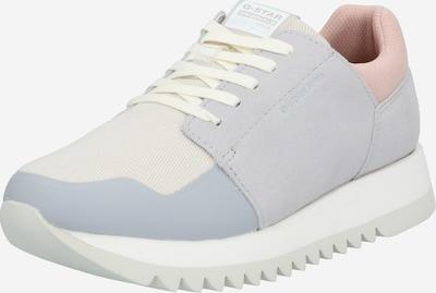 G-Star RAW Sneakers laag 'Deline II' in de kleur Pastelblauw / Lichtgrijs / Poederroze / Wit, Productweergave