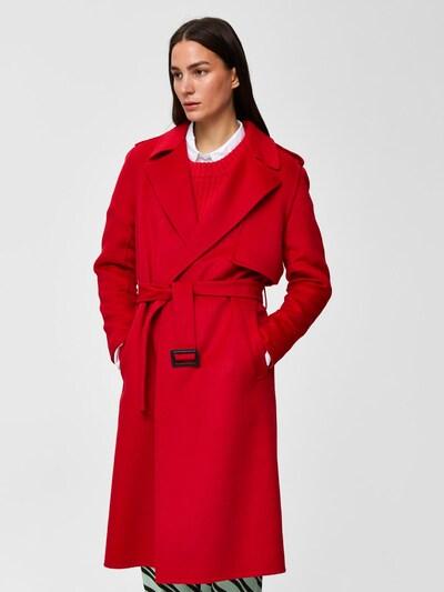 SELECTED FEMME Trenchcoat in rot, Modelansicht
