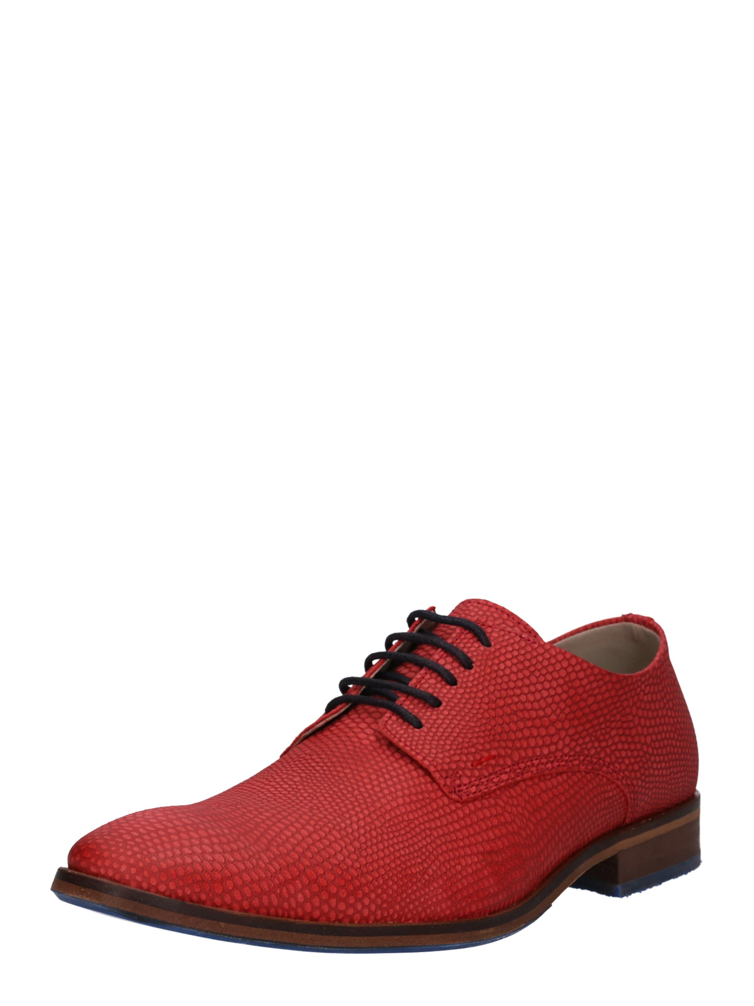 Lacets Bullboxer En Orangé Rouge Chaussure À afEwq4f