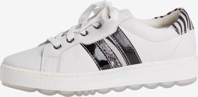 JANA Sneaker in schwarz / weiß, Produktansicht