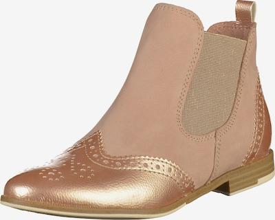 MARCO TOZZI Chelsea Boots in champagner / kitt, Produktansicht