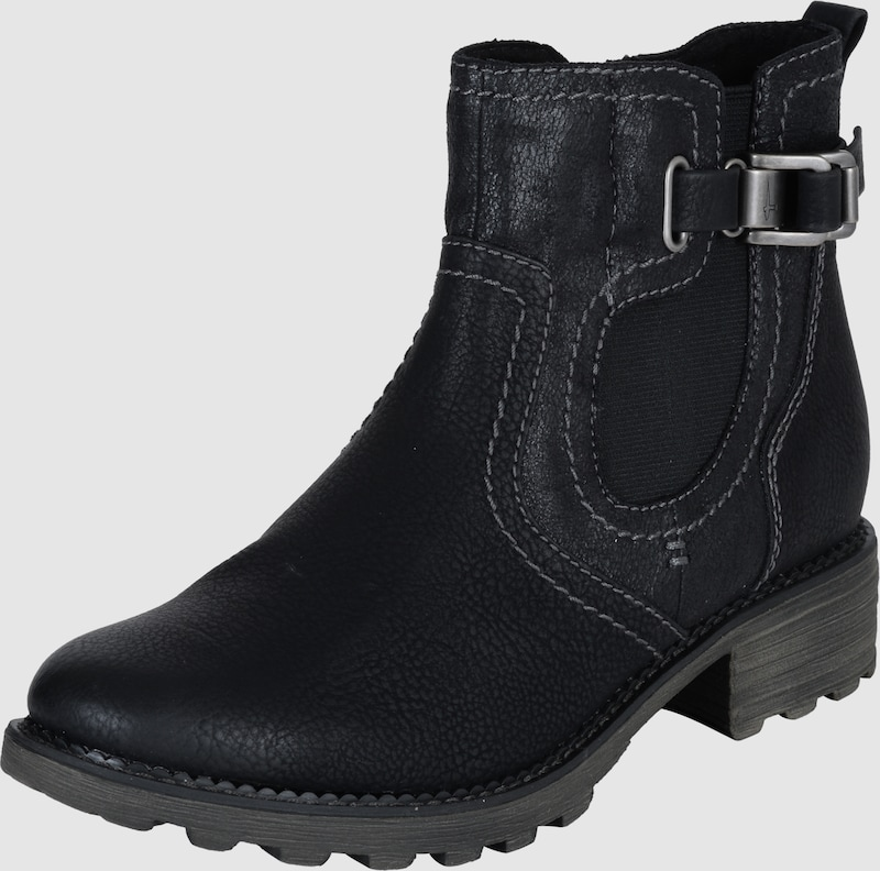 Tamaris Chelsea-boot With Buckle